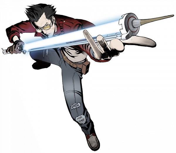 Tags: Anime, Kozaki Yuusuke, No More Heroes, Travis Touchdown, Official Art
