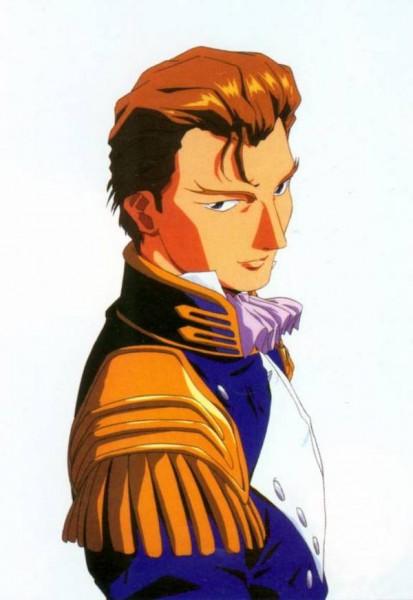 Treize Khushrenada - Mobile Suit Gundam Wing