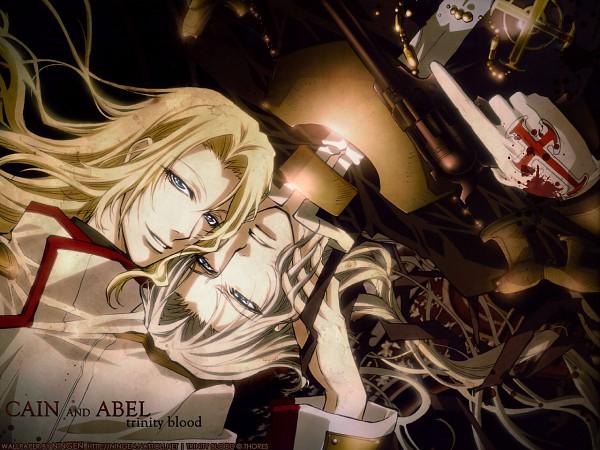 Tags: Anime, Nakajima Atsuko, Trinity Blood, Cain Nightroad, Abel Nightroad, Wallpaper