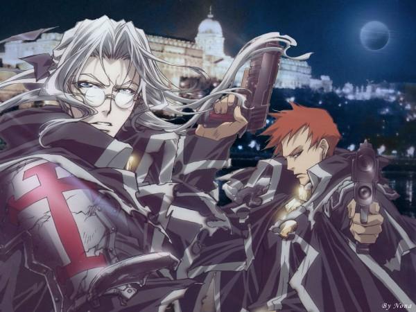 Tags: Anime, Nakajima Atsuko, Trinity Blood, Tres Iques, Abel Nightroad, Edited, Wallpaper