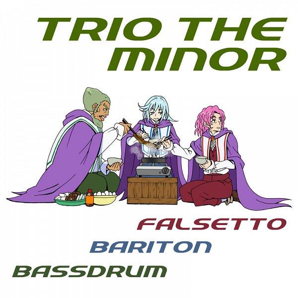 Tags: Anime, Eunos, Suite Precure♪, Bassdrum, Baritone, Falsetto (Precure), Pixiv, Fanart, Fanart From Pixiv, Trio The Minor
