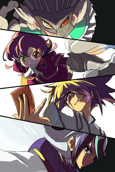 Tags: Anime, Evolution (Pixiv5555486), Yu-Gi-Oh!, Yu-Gi-Oh! ZEXAL, IV (Yu-Gi-Oh! ZEXAL), III (Yu-Gi-Oh! ZEXAL), Byron Arclight, V (Yu-Gi-Oh! ZEXAL), 2000x3000 Wallpaper, Mobile Wallpaper, Pixiv, Wallpaper, Fanart From Pixiv, Vetrix Family