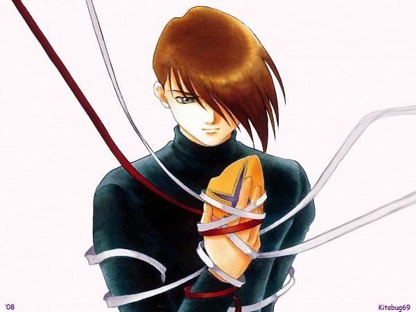 Tags: Anime, Tohru Adumi, Mobile Suit Gundam Wing, Trowa Barton, Fanart, Wallpaper