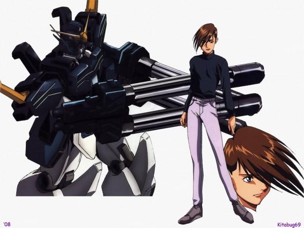 Tags: Anime, Mobile Suit Gundam Wing, Trowa Barton, Wallpaper