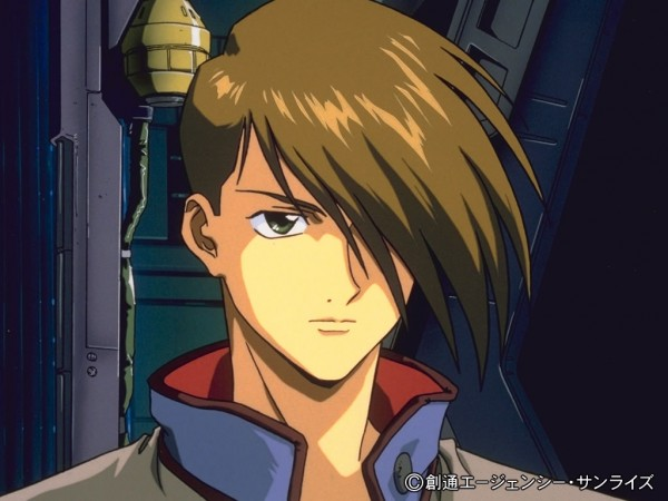 Tags: Anime, Mobile Suit Gundam Wing, Trowa Barton, Screenshot