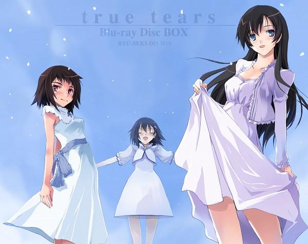 Tags: Anime, Nagare Hyougo, True Tears, Yuasa Hiromi, Isurugi Noe, Andou Aiko