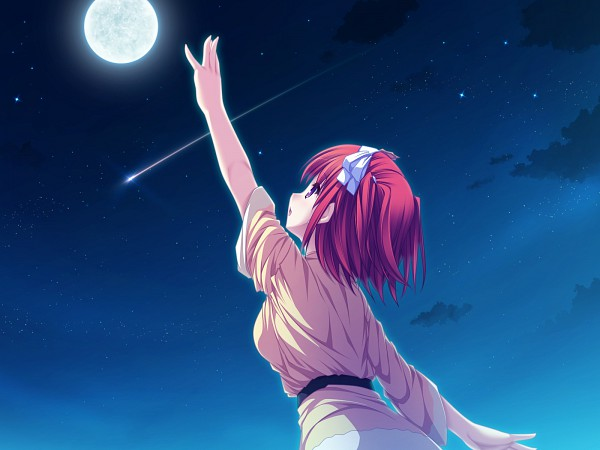 Tags: Anime, Tenmaso, Suzukaze no Melt, Tsubaki Nazuna, Wallpaper