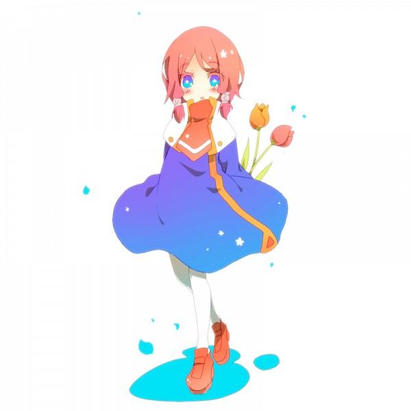 Tags: Anime, Pixiv Id 4073560, BlazBlue, Tsubaki Yayoi, Tulip, Pixiv