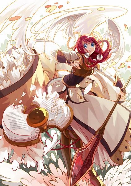 Tags: Anime, Sherry (Selenoring), BlazBlue, Tsubaki Yayoi, deviantART, Mobile Wallpaper, Fanart From DeviantART, Fanart