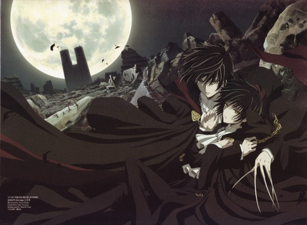 Tags: Anime, Ookubo Tooru, Tsubasa: TOKYO REVELATIONS, Tsubasa: RESERVoir CHRoNiCLE, Shirou Kamui (TRC), Sumeragi Subaru (TRC), Scan, Official Art