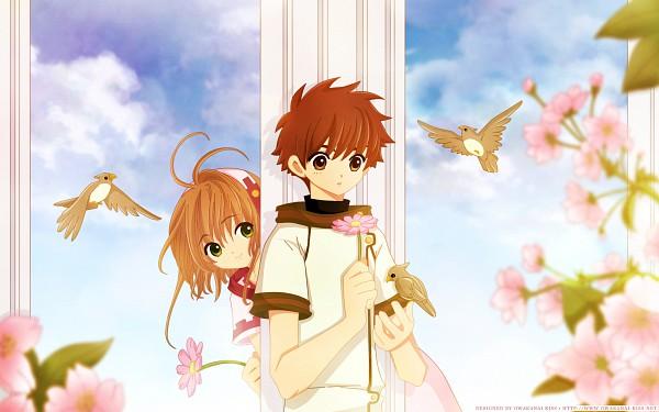 "Tags: Anime, CLAMP, Tsubasa: RESERVoir CHRoNiCLE, Princess ""Sakura"", Li Syaoran (TRC), Wallpaper"