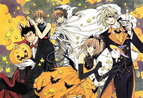 "Tags: Anime, CLAMP, Tsubasa Shunraiki, Tsubasa: TOKYO REVELATIONS, Tsubasa: RESERVoir CHRoNiCLE, Kurogane, Li ""Syaoran"", Fay D. Flourite, Mokona Modoki, Princess Sakura, Li Syaoran (TRC), Party, Trench Coat"