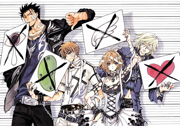 Tags: Anime, CLAMP, Tsubasa: TOKYO REVELATIONS, Tsubasa: RESERVoir CHRoNiCLE, Tsubasa Album De Reproductions 2, Kurogane, Princess Sakura, Li