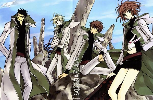 Tags: Anime, CLAMP, Tsubasa: TOKYO REVELATIONS, Tsubasa: RESERVoir CHRoNiCLE, Princess Sakura, Kurogane, Fay D. Flourite, Li