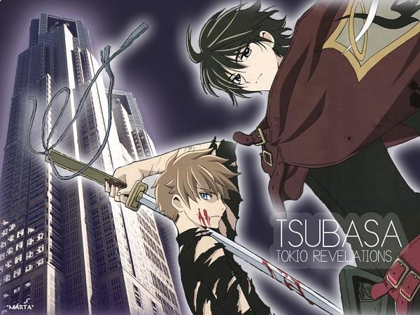 Tags: Anime, Tsubasa: TOKYO REVELATIONS, Tsubasa: RESERVoir CHRoNiCLE, Li Syaoran (TRC), Shirou Kamui (TRC), Wallpaper, Vector