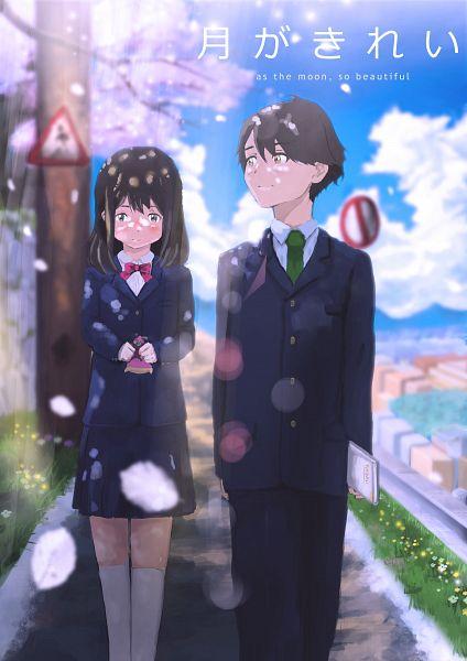 Tags: Anime, Pixiv Id 25752508, Tsuki ga Kirei, Azumi Kotarou, Mizuno Akane