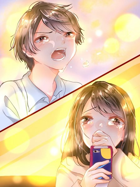 Tags: Anime, Pixiv Id 18079550, Tsuki ga Kirei, Azumi Kotarou, Mizuno Akane, iPhone