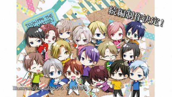Tags: Anime, SQ (TsukiPro), TsukiPro The Animation, ALIVE (TsukiPro), Kuga Issei, Yaegashi Kensuke, Okui Tsubasa, Kagurazaka Soshi, Horimiya Eichi, Eto Koki, Murase Dai, Ohara Sora, Izumi Shuu