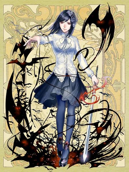 Tags: Anime, Psychic Hearts, Tsukiakarifuru-riquet, PNG Conversion