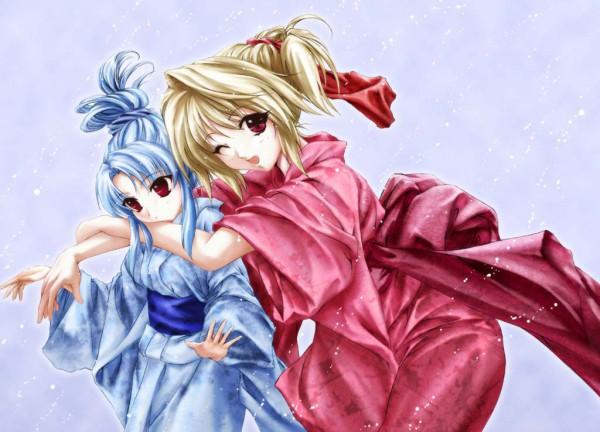 Tags: Anime, TYPE-MOON, Tsukihime, Arcueid Brunestud, Len (Tsukihime), Lunar Legend Moon Princess