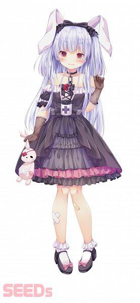 Tags: Anime, Kinokomushi, Ichikara Inc., Tsukimi Shizuku (Channel), Nijisanji, Tsukimi Shizuku, 946x2048 Wallpaper, Official Art, Wallpaper, Mobile Wallpaper, Cover Image