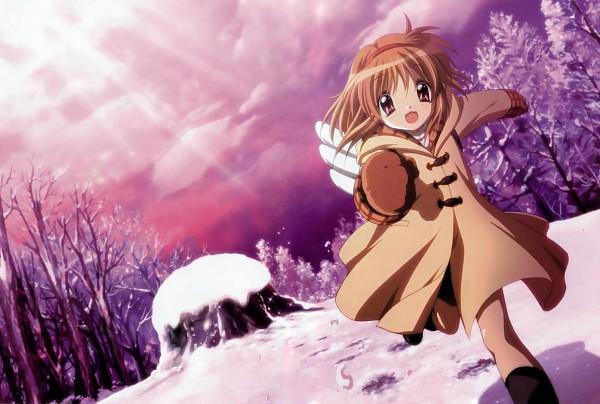 Tags: Anime, KEY (Studio), Kyoto Animation, Kanon (KEY), Tsukimiya Ayu, Official Art