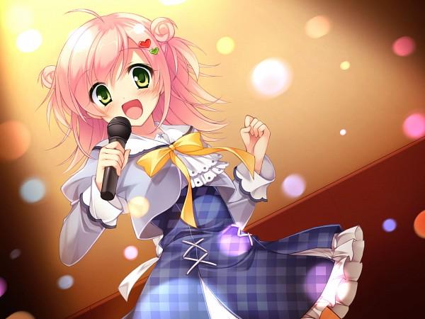 Tags: Anime, Pan (mimi), Onomatope*, Sakura no Reply, Tsukimori Chiyoko, Heart Clip, Heart Hair Ornament