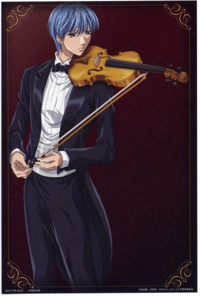 Tags: Anime, Kiniro no Corda, Tsukimori Len, Bow (instrument)
