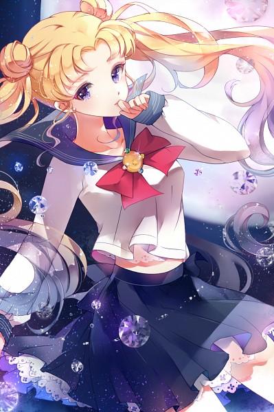 Tags: Anime, tukino, Bishoujo Senshi Sailor Moon, Tsukino Usagi, Henshin Brooch, Fanart, Fanart From Pixiv, Pixiv, Mobile Wallpaper