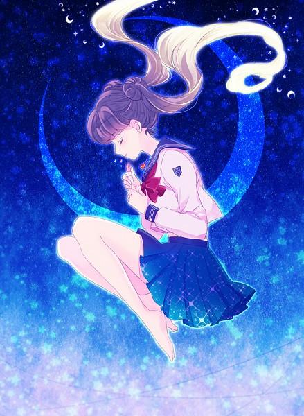 Tags: Anime, Saki Kunkatan, Bishoujo Senshi Sailor Moon, Tsukino Usagi, Lipstick Tube, Pixiv, Mobile Wallpaper, Fanart From Pixiv, Fanart