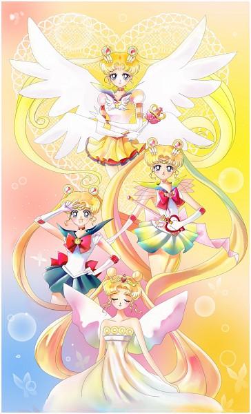 Tags: Anime, Surlaluna, Bishoujo Senshi Sailor Moon, Neo-Queen Serenity, Sailor Moon (Character), Tsukino Usagi, Eternal Tiare, Yellow Skirt, Serenity Crystal Tiara, Kaleidomoon Scope, Eternal Moon Article, Crisis Moon Compact, Henshin Brooch