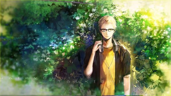Tags: Anime, ZIS, Haikyuu!!, Tsukishima Kei, Fanart From Pixiv, HD Wallpaper, Facebook Cover, Pixiv, Wallpaper, Fanart