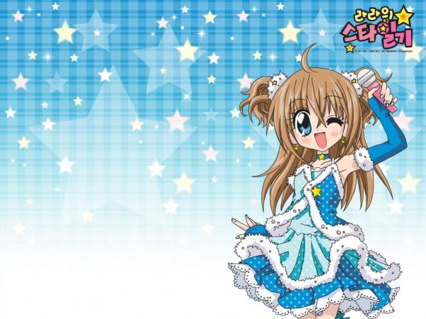 Tags: Anime, Kirarin☆Revolution, Tsukishima Kirari, Official Art, Official Wallpaper, Wallpaper