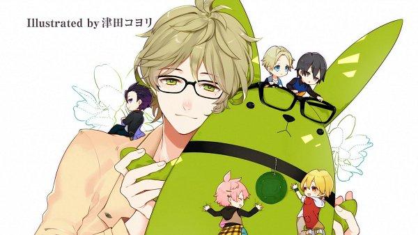 Tags: Anime, Tsukiuta, Shiwasu Kakeru, Mutsuki Hajime, Satsuki Aoi, Uzuki Arata, Kisaragi Koi, Yayoi Haru, End Cards, Wallpaper