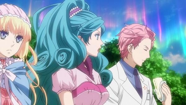Tags: Anime, Karneval, Devil May Cry, Akari (Karneval), Iva, Tsukumo (Karneval), Eva (Devil May Cry), Screenshot