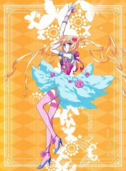 Tags: Anime, manglobe, Karneval, Tsukumo (Karneval), Official Art, Scan