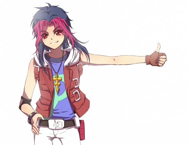 Tags: Anime, Liusang, Yu-Gi-Oh! ZEXAL, Yu-Gi-Oh!, Tsukumo Yuma, Emperor's Key, Pixiv, Fanart From Pixiv, Fanart