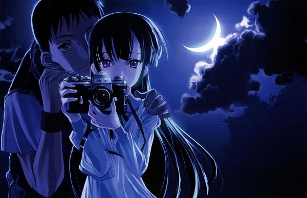Tags: Anime, CHOCO (CHOCOLATE SHOP), Tsukuyomi: Moon Phase, CHOCOLATE GOUACHE, Hazuki (Tsukuyomi: Moon Phase), Morioka Kouhei