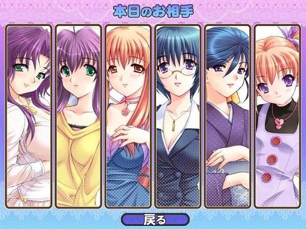 Tags: Anime, Alice Soft, Tsuma Shibori, Sakura Aoi, Kototsuki Madoka, Yukie Tsubaki, Himeka Takeuchi, Official Art