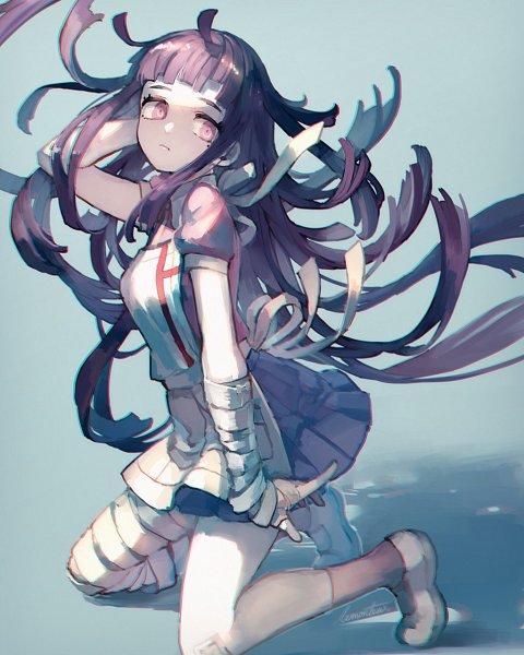 Tags: Anime, lemontea, Super Danganronpa 2, Tsumiki Mikan