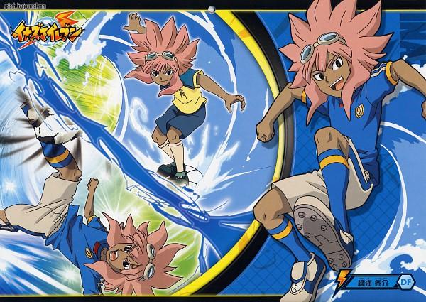 Tags: Anime, Inazuma Eleven, Tsunami Jousuke, Official Art, Scan
