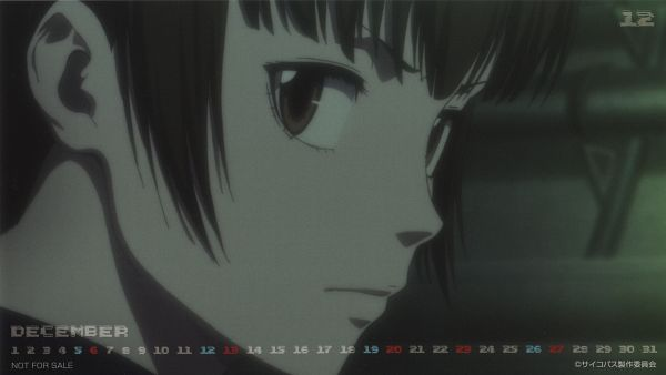 Tags: Anime, Tatsunoko Production, PSYCHO-PASS, PSYCHO-PASS 2 2015 Calendar, Tsunemori Akane, Official Art, Calendar 2015, Scan, Wallpaper, Calendar (Source)