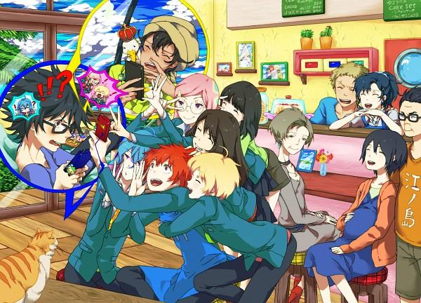 Tags: Anime, N (No Bu), Tsuritama, Tapioca, Haru (Tsuritama), Coco (Tsuritama), Kate (Tsuritama), Yamada Akira Agarkar, Urara (Tsuritama), Usami Natsuki, Usami Sakura, Sanada Yuki, Erika  (Tsuritama)