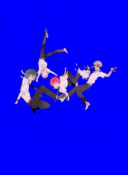Tags: Anime, Pixiv Id 4655588, Hooksoft, Tsuritama, Haru (Tsuritama), Tapioca, Yamada Akira Agarkar, Usami Natsuki, Sanada Yuki, Fishing Rod, Pixiv, Fanart, Fanart From Pixiv