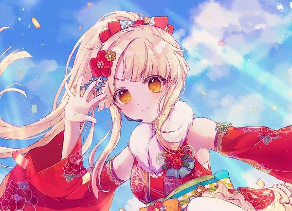 Tags: Anime, Pixiv Id 20093361, BanG Dream! Girls Band Party!, Tsurumaki Kokoro, Sideburns, Pixiv, Fanart, Fanart From Pixiv