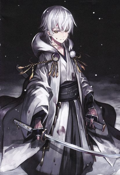 Tags: Anime, Hibana (Artist), Capriccioso, Touken Ranbu, Tsurumaru Kuninaga, Mobile Wallpaper, Scan, Comic Market 91, Comic Market