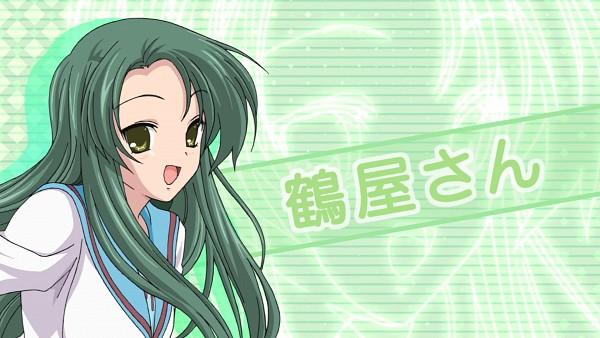 Tags: Anime, Suzumiya Haruhi no Yuuutsu, Tsuruya, HD Wallpaper, Screenshot, Wallpaper