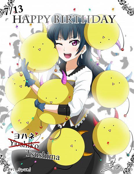Tags: Anime, Isuka, Love Live! Sunshine!!, Tsushima Yoshiko, Yoshiko Tsushima