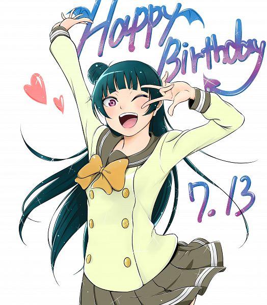 Tags: Anime, Pixiv Id 11187240, Love Live! Sunshine!!, Tsushima Yoshiko, Yoshiko Tsushima