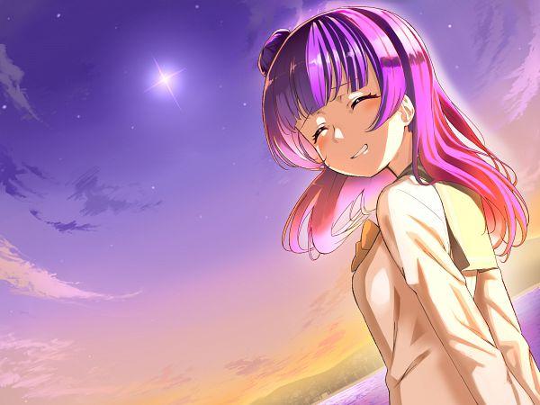 Tags: Anime, Pixiv Id 4318699, Love Live! Sunshine!!, Tsushima Yoshiko, PNG Conversion, Yoshiko Tsushima
